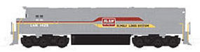 Atlas Alco C628 Phase IIA Family Lines/L&N #1402 N Scale Model Train Diesel Locomotive #40001964
