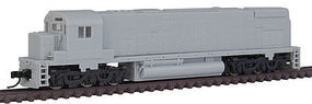 Atlas C-628 DCC Ph 1A Undecorated N Scale Model Train Diesel Locomotive #40001987