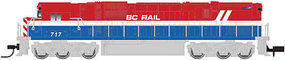 Atlas Alco C630 w/DCC British Columbia Railway #709 N Scale Model Train Diesel Locomotive #40002004
