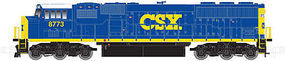 Atlas EMD SD60M 2-Window Version CSX #8768 N Scale Model Train Diesel Locomotive #40002079