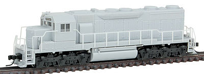 Atlas SD35 Low Hood DC Undecorated without HL -- N Scale Model Train Diesel Locomotive -- #40002081