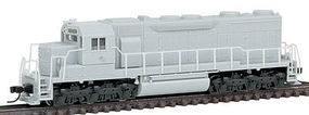 Atlas SD35 Low Hood DC Undecorated with HL N Scale Model Train Diesel Locomotive #40002082