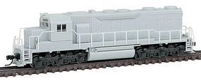 Atlas SD35 Low Hood DCC Undecorated without HL N Scale Model Train Diesel Locomotive #40002100