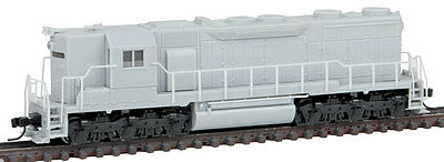 Atlas SD35 High Hood DCC Undecorated -- N Scale Model Train Diesel Locomotive -- #40002112