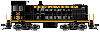 Atlas S2 Loco DCC/Sound Central Vermont #8093 -- N Scale Model Train Diesel Locomotive -- #40002147