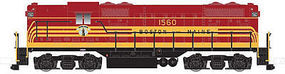 Atlas EMD GP7 Phase 1 w/DCC - Boston & Maine #1565 N Scale Model Train Diesel Locomotive #40002188