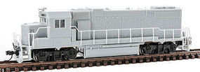 Atlas GP38-2 Diesel Undecorated N Scale Model Train Diesel Locomotive #40002268