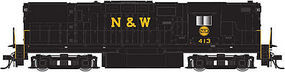 Atlas C420 Hi Nose DC Norfolk & Western #413 N Scale Model Train Diesel Locomotive #40002338