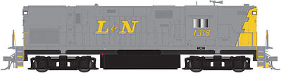 Atlas C420 Hi Nose DC Louisville & Nashville #1318 -- N Scale Model Train Diesel Locomotive -- #40002349