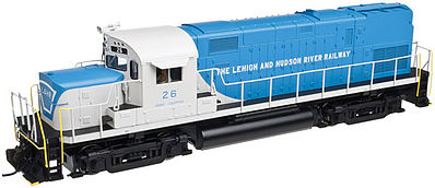 Atlas C420 PH.2B Lehigh & Hudson River #28 DCC -- N Scale Model Train Diesel Locomotive -- #40002355