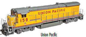 Atlas B23-7 DC Union Pacific #166 N Scale Model Train Diesel Locomotive #40002383