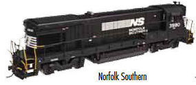 Atlas B23-7 DC Norfolk Southern #3980 N Scale Model Train Diesel Locomotive #40002385