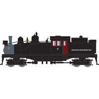 Atlas Shay Arcata & Mad River RR #7 N Scale Model Train Steam Locomotive #40002565