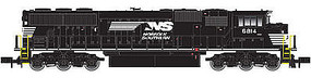 Atlas SD60/60M DC Norfolk Southern #6814 N Scale Model Train Diesel Locomotive #40002657
