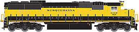 Atlas SD60/60M DCC NYSW #3806 N Scale Model Train Diesel Locomotive #40002661