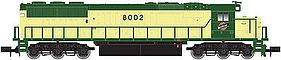 Atlas SD60/60M DCC Chicago & North Western #8015 N Scale Model Train Diesel Locomotive #40002664