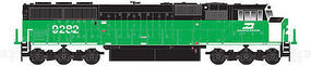 Atlas SD60/60M DCC Burlington Northern #9296 N Scale Model Train Diesel Locomotive #40002679