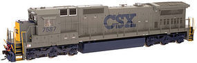 Atlas Dash 8-40C CSX 7509 N Scale Model Train Diesel Locomotive #40002727