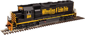 Atlas GP-40 Wheeling & Lake Erie #304 W/dcc N Scale Model Train Diesel Locomotive #40002783