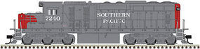 Atlas EMD SD24 with DCC Southern Pacific #7242 N Scale Model Train Diesel Locomotive #40002876