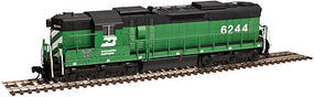Atlas SD24 Burlington Northern #6243 with dcc N Scale Model Train Diesel Locomotive #40002884