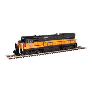 Atlas GE U23B Low Hood Milwaukee Road #5004 -- N Scale Model Train Diesel Locomotive -- #40002990
