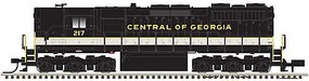 Atlas EMD SD35 High Nose - Standard DC - Master(R) Silver Central of Georgia 220 (black, white, gold) - N-Scale