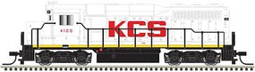 Atlas EMD GP30 Phase 1 No Nose Headlight - Standard DC Kansas City Southern 4106 (white, red, black) - N-Scale