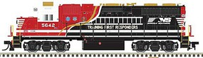 Atlas N GP38 w/DCC & Sound, NS #5642