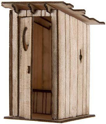 Noch 14359 Outhouse 2// H0 Scale  Model Kit