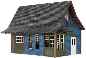 Atlas Tuckerton Ticket Office Kit HO Scale Model Railroad Building #4001010