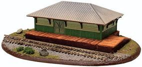 Atlas Freight Station Kit N Scale Model Railroad Building #4001015