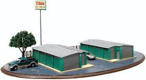 Atlas Self Storage Unit Kit N Scale Model Railroad Building #4001016