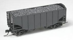 Atlas 55-Ton Fishbelly Hopper Undecorated N Scale Model Train Freight Car #41000
