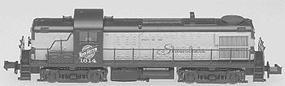 Atlas RS-3 Locomotive - Undecorated N Scale Model Train Diesel Locomotive #4200