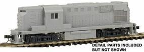 Atlas Alco RS11 - Standard DC - Undecorated N Scale Model Train Diesel Locomotive #42600