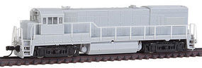 Atlas GE U23B Low Nose w/AAR Type B Trucks Undecorated N Scale Model Train Diesel Locomotive #45900