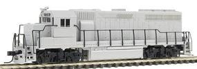 Atlas EMD GP40 Powered DCC Ready - Undecorated N Scale Model Train Diesel Locomotive #48501