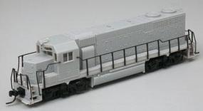 Atlas Early EMD GP38 Powered DCC Ready - Undecorated N Scale Model Train Diesel Locomotive #48900
