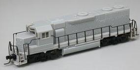 Atlas Early EMD GP38 Powered DCC Ready - Undecorated N Scale Model Train Diesel Locomotive #48901