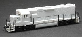 Atlas EMD GP38 Powered DCC Ready - Undecorated N Scale Model Train Diesel Locomotive #49801