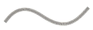 Atlas Code 83 Super-Flex Brown (1) HO HO Scale Nickel Silver Model Train Track #500