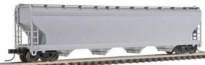 Atlas ACF 5701 Centerflow Plastics Hopper Undecorated N Scale Model Train Freight Car #50000011