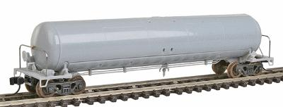 Atlas 20,700 Gallon Non-Insulated Tank Car Undecorated N Scale Model Train Freight Car #50000189