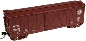 Atlas USRA Single-Sheathed Wood Boxcar Western Maryland N Scale Model Train Freight Car #50001258