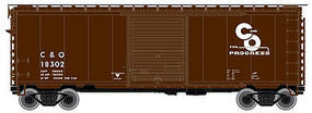 Atlas 40 PS-1 Boxcar w/8 Door Chesapeake & Ohio N Scale Model Train Freight Car #50001316