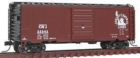 Atlas 40 PS-1 Boxcar Central Railroad of New Jersey N Scale Model Train Freight Car #50001320