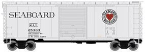 Atlas 40 PS-1 Boxcar w/8 Door Seaboard Air Line N Scale Model Train Freight Car #50001325