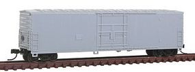 Atlas 50 Plug-Door Boxcar Undecorated N Scale Model Train Freight Car #50001344