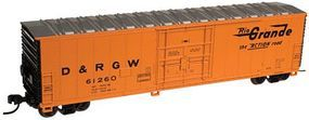 Atlas 50 Plug-Door Boxcar Denver & Rio Grande Western N Scale Model Train Freight Car #50001356